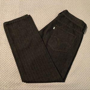 Levi's Herringbone Throwback Slim Straight Jeans